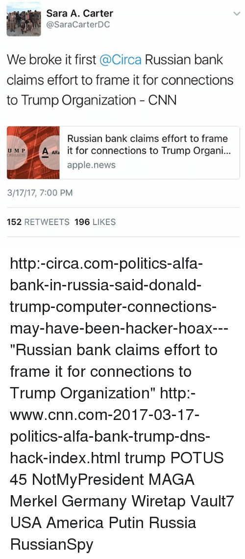 We Broke It First Circa Russian Bank Claims Effort to Frame It for