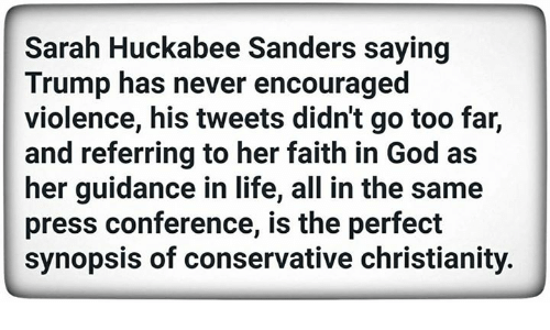 Image result for images of tweets sarah huckabee sanders