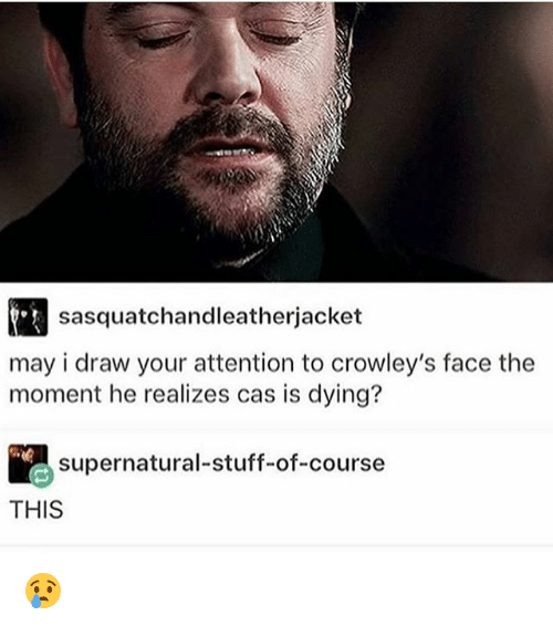 Sasquatchandleatherjacket May I Draw Your Attention To Crowley S