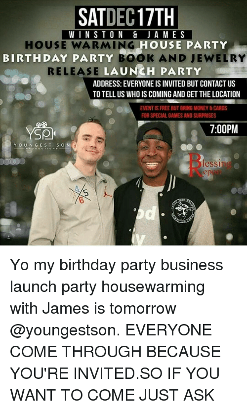 Housewarming Party Invited Meme
