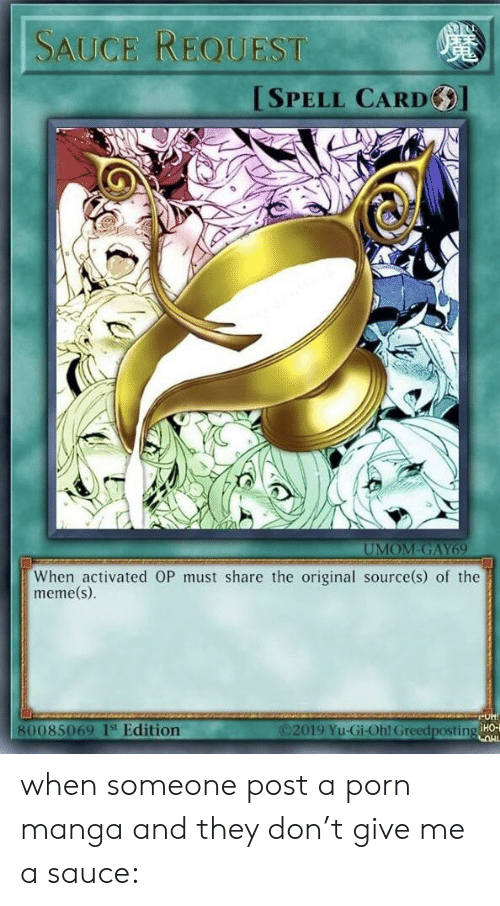 Sauce Request Spell Card Umom Gay69 When Activated Op Must Share