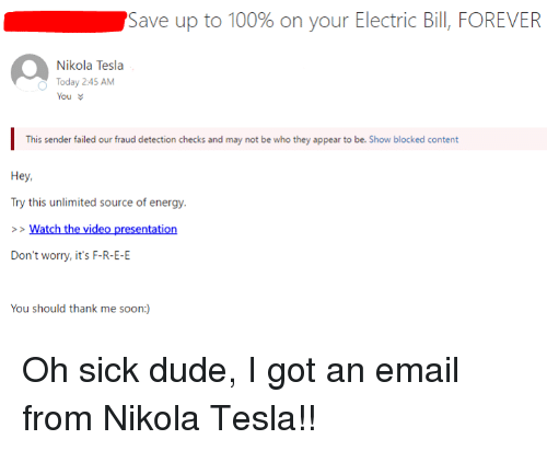Dude Energy And Fail Save Up To 100 On Your Electric Bill