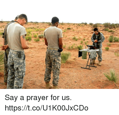 Memes, Prayer, and 🤖: Say a prayer for us. https://t.co/U1K00JxCDo