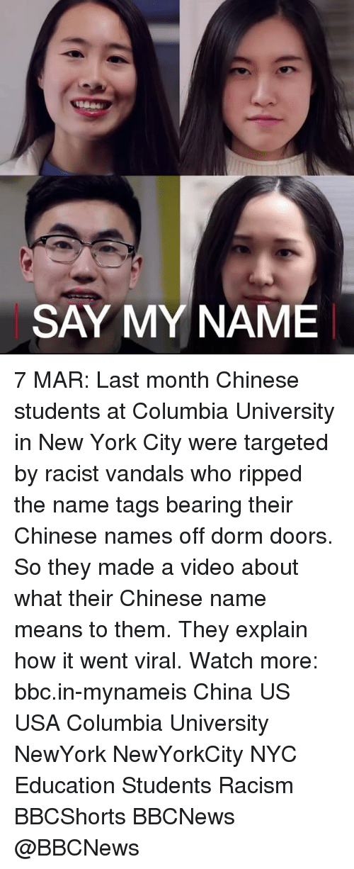 the racial discrimination issue of ripping off door tags with chinese names at columbia university Amazon echo customers face issues in europe  6 genius tips from a couple who paid off $330,000 of debt in 5 years  get help for questions about msn and microsoft news lifestyle.