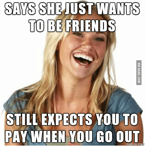 She Says She Wants To Be Friends