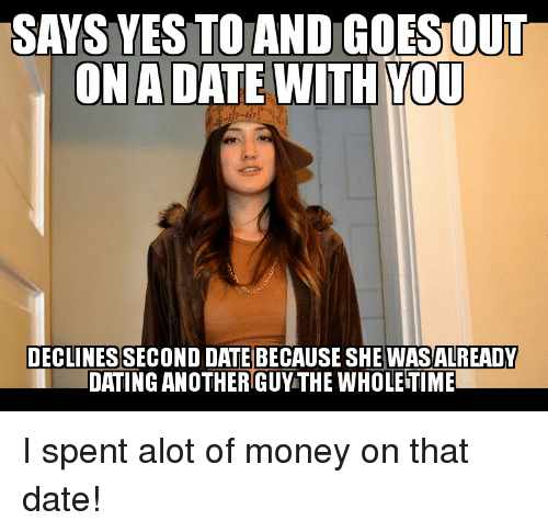 she started dating another guy
