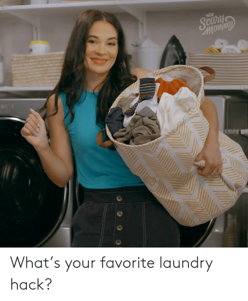 Scanihn Momny What's Your Favorite Laundry Hack? | Dank Meme