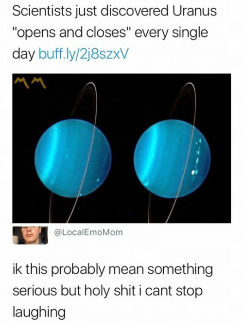 Scientists Just Discovered Uranus Opens and Closes Every