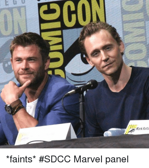 Memes, Marvel, and 🤖: SCON  Mark Bu *faints* #SDCC Marvel panel