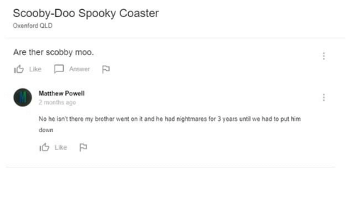 b729268cddb Scooby Doo, Dank Memes, and Spooky: Scooby-Doo Spooky Coaster Oxenford QLD