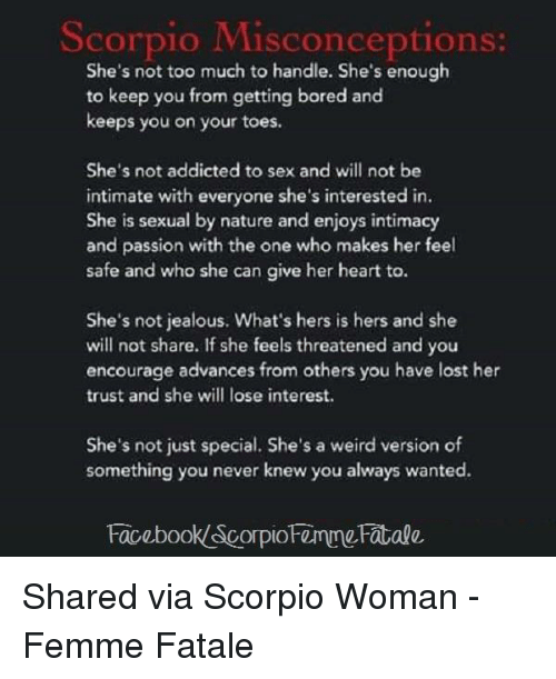 She is never interested in sex