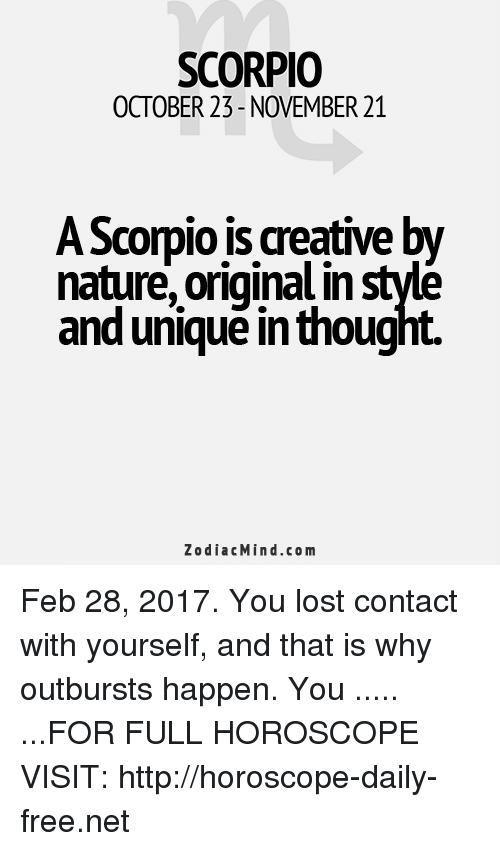 Scorpio Health & Wellness Horoscope