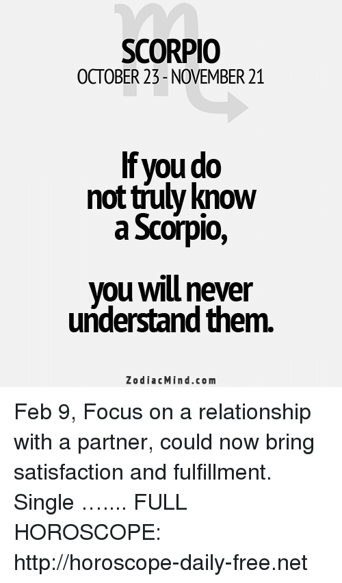 horoscope scorpio 21 february