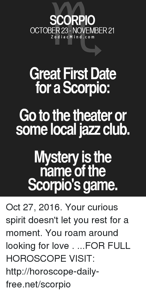 Is november 27 a scorpio dating