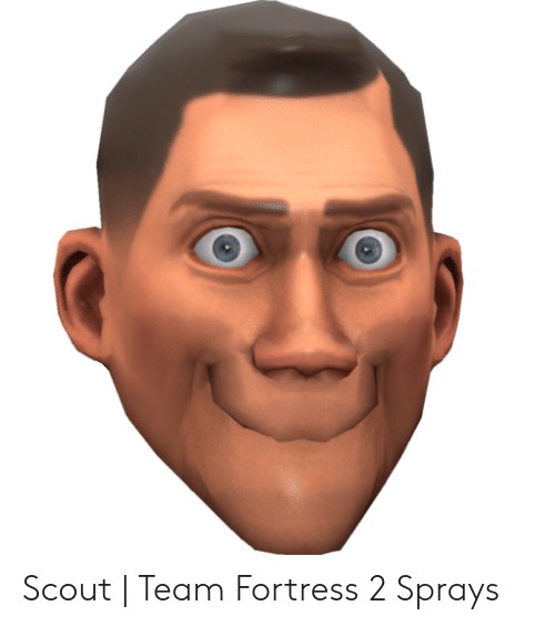 team fortress 2 scout face
