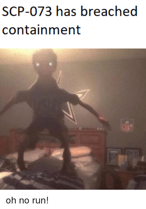 SCP-073 Has Breached Containment | Reddit Meme on ME ME