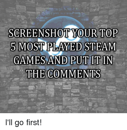 top played games on steam