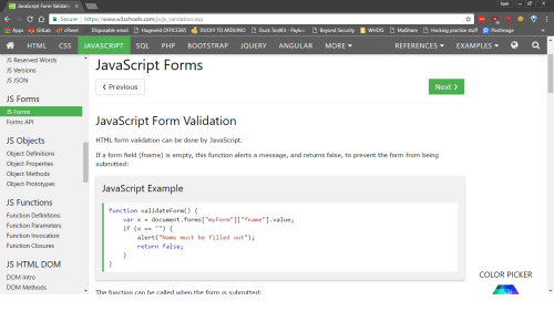 Script Form Validatic X Secure Https Wwww3schools Com Jsjs