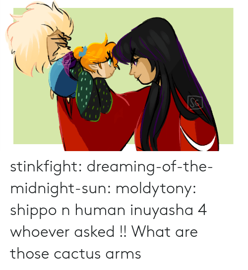 Gif, Target, and Tumblr: Se stinkfight:  dreaming-of-the-midnight-sun:  moldytony:  shippo n human inuyasha 4 whoever asked !!  What are those cactus arms