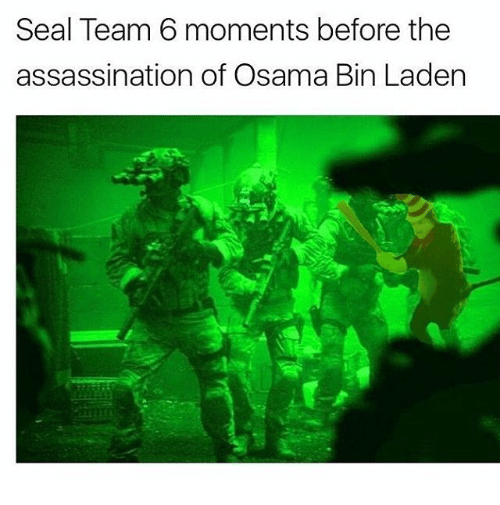 Seal Team 6 Moments Before the Assassination of Osama Bin