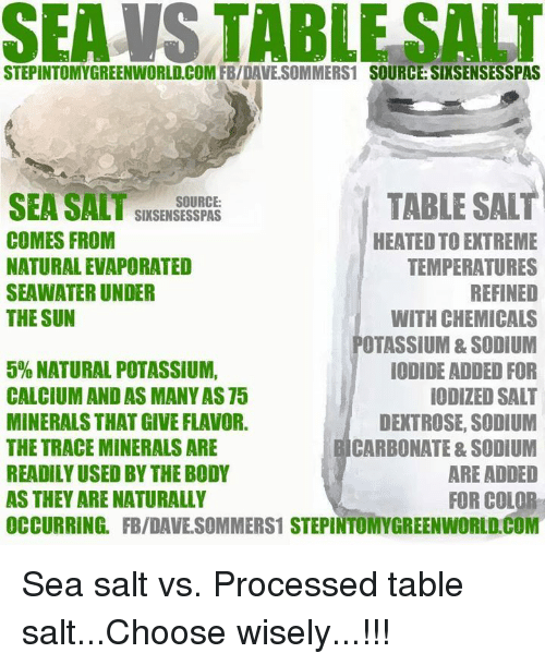 Image result for table salt memes