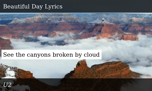 See the Canyons Broken by Cloud | Donald Trump Meme on ME ME