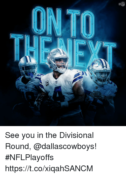 Memes, 🤖, and You: See you in the Divisional Round, @dallascowboys! #NFLPlayoffs https://t.co/xiqahSANCM