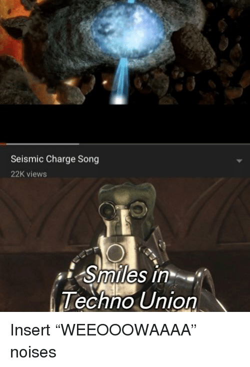 Smiles, Song, and Union: Seismic Charge Song  22K views  Smiles in  echno Union