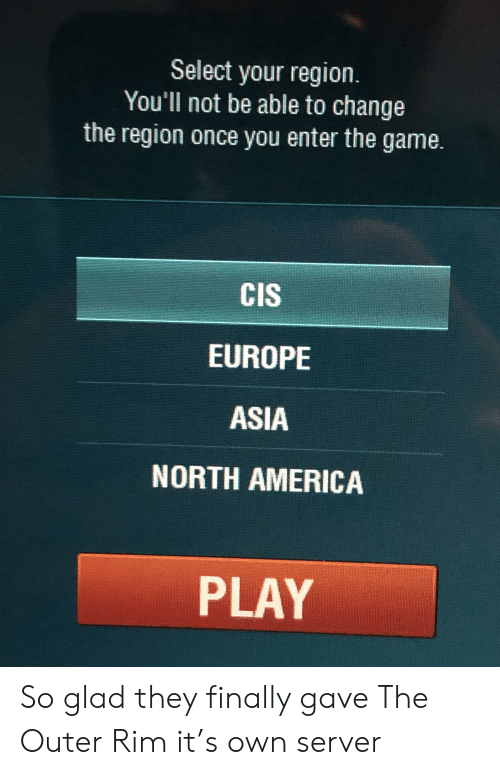 America The And Europe Select Your Region You Ll Not Be