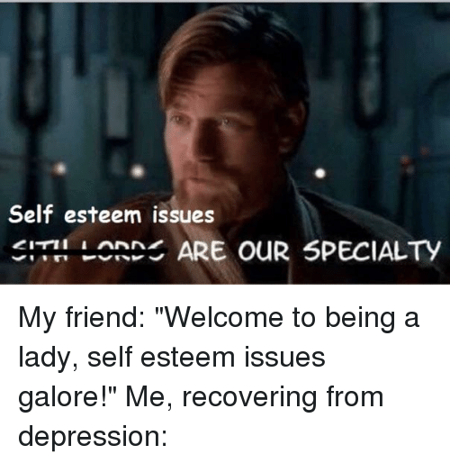 how to help a friend with self esteem issues