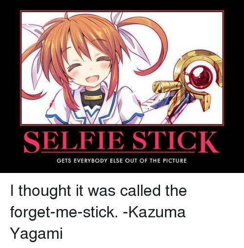 Selfie Stick Gets Everybody Else Out Of The Picture I Thought It Was