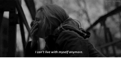Live, Myself, and  I Cant: SEMPETERNAL  I can't live with myself anymore.