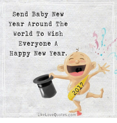 Send Baby New Year Around the World to Wish Everyone a Happy New ...