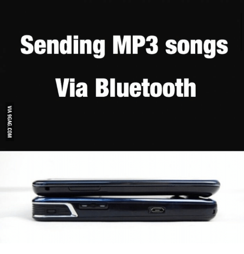 Sending MP3 Songs via Bluetooth | Bluetooth Meme on ME ME