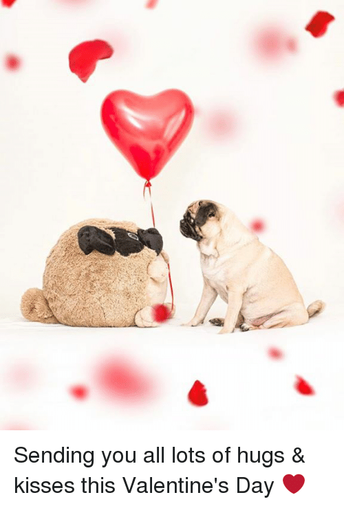 sending you all lots of hugs kisses this valentines 14439111 sending you all lots of hugs & kisses this valentine's day