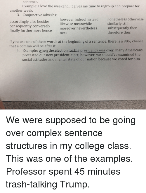 Sentence Example I Love The Weekend It Gives Me Time To Regroup And