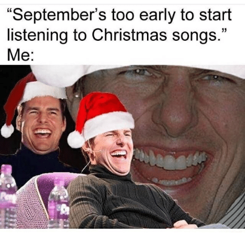 ✅ 25+ Best Memes About Christmas Songs | Christmas Songs Memes