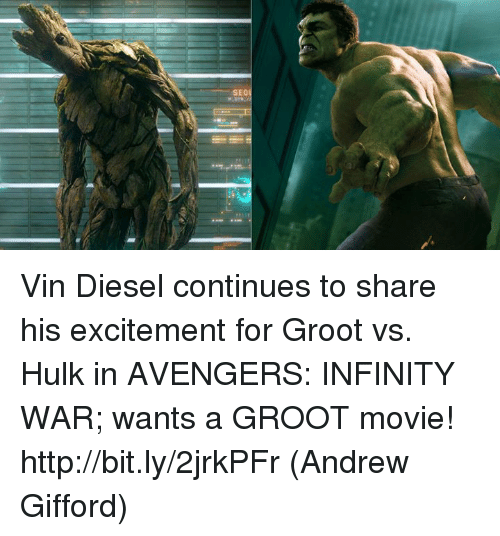 i just found out something about groot in infinity war - 500×536