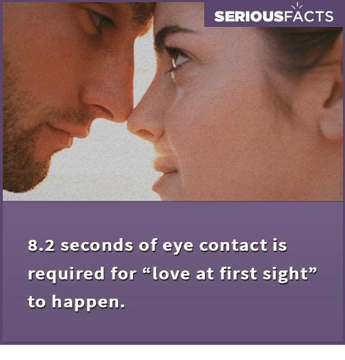 Eye Contact Love At First Sight