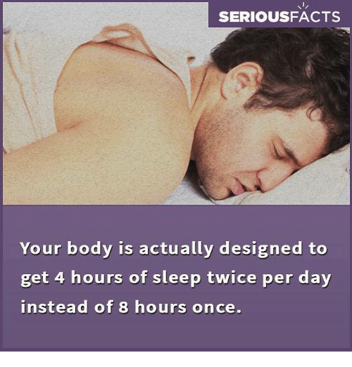 how to get by 2 hours of sleep reddit