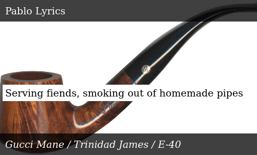 Serving Fiends Smoking Out of Homemade Pipes | Donald Trump