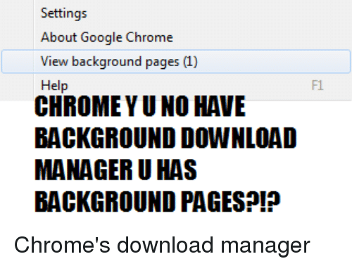 settings about google chrome help chrome yuno have background