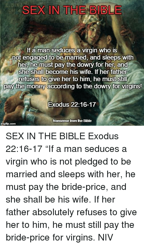 Bible sex with them exodus