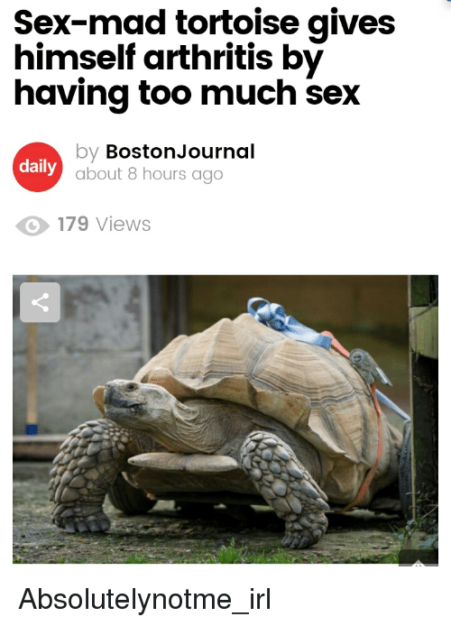 Can you have too much sex