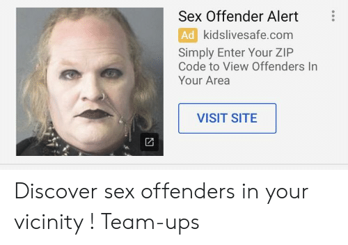 area sex offenders