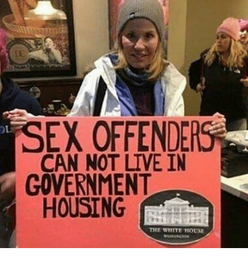 Where can a sex offender live
