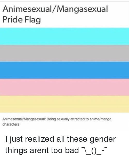All sexual orientation flags