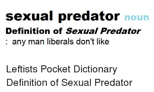 Definition of sexual predator