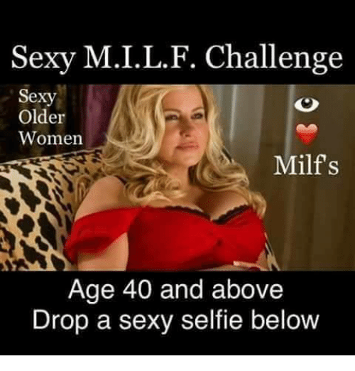 Hot sexy milf caprion