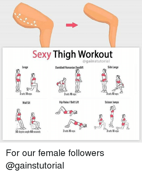 Phrase butt thigh exercises sexy